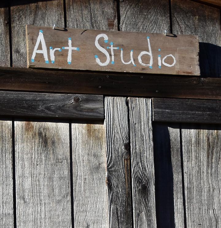 Art Studio doorway